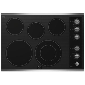 WHIRLPOOLGold(R) 30-inch Electric Ceramic Glass Cooktop with Five Elements