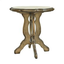 Berkshire Scalloped Top Accent Table