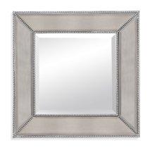 Beaded Wall Mirror