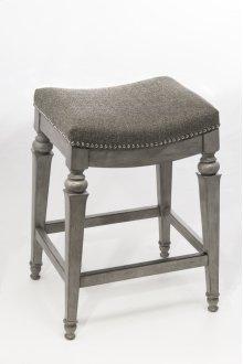 Vetrina Backless Counter Stool - Gray