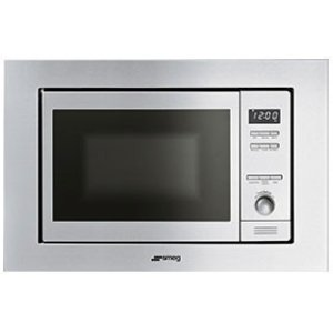 "Smeg60CM (Approx 24"") Built-in Microwave Stainless Steel"