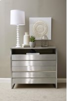 Sutton Place 3 Drawer Media Chest in Oak Grey Product Image