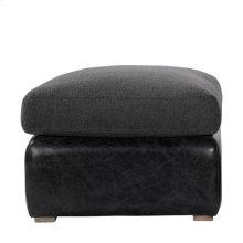 Winslow Ottoman Wool/leather