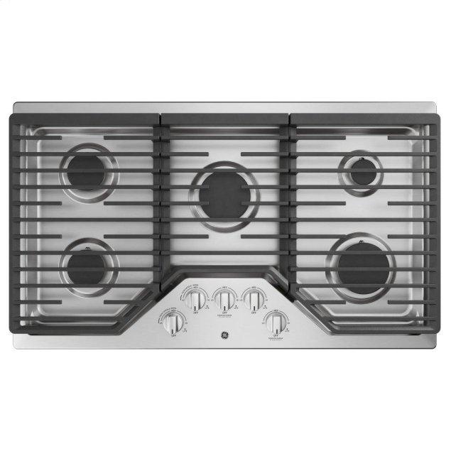 "GE ®36"" Built-In Gas Cooktop"