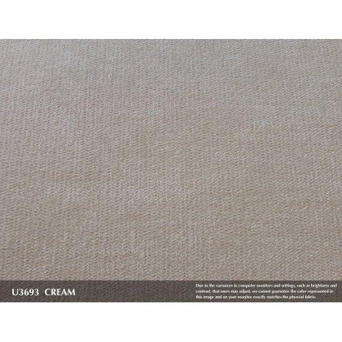 Emerald Home Salerno Ottoman Sand Gray/distressed U3693-03-09