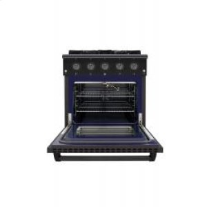 Stainless Steel Gas Range - Hrg3080-bs