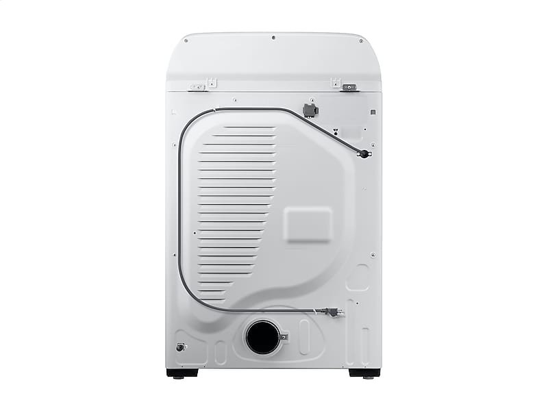 DV5400 7 4 cu  ft  Gas Dryer with Steam Sanitize+ in White
