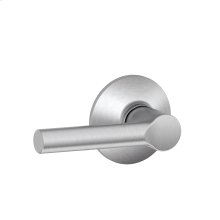 Broadway Lever Hall & Closet Lock - Satin Chrome