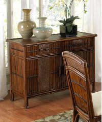 Tahiti Indoor Rattan & Wicker Buffet Product Image