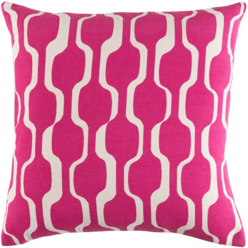 "Trudy TRUD-7124 18"" x 18"" Pillow Shell with Polyester Insert"