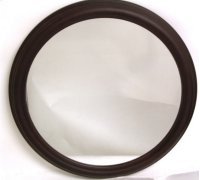 Round Wooden Multi Layer Frame Mirror-36 Product Image