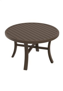 "Banchetto 42"" Round Chat Table"