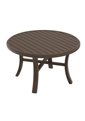 """Banchetto 42"""" Round Chat Table"""