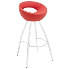 Persist Bar Stool in Red Product Image