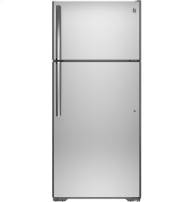 FACTORY BLEMISH UNIT - GE® ENERGY STAR® 15.5 Cu. Ft. Top-Freezer Refrigerator