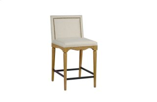"Keegan 24.25"" Counter Stool - Natural Finish"