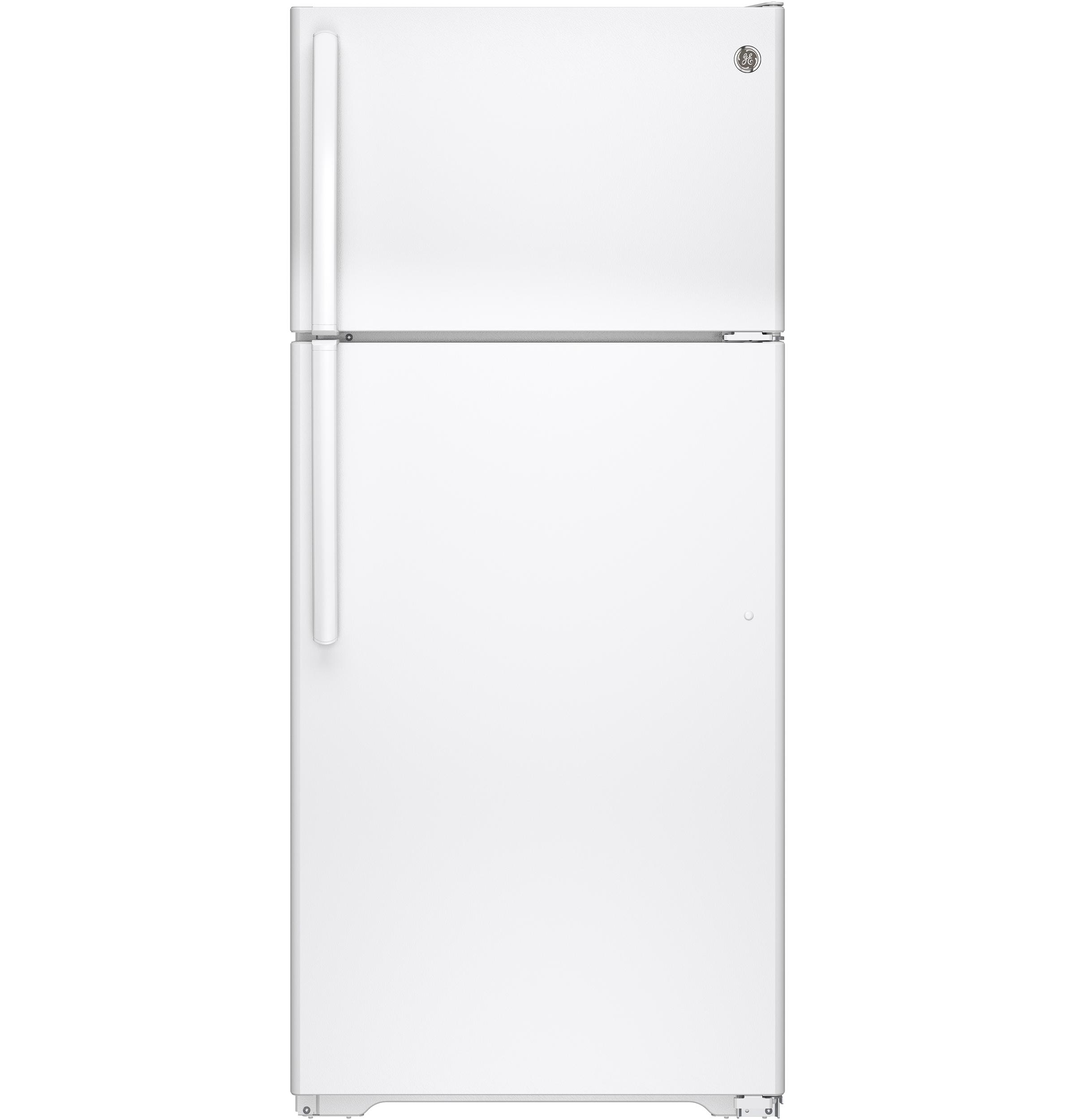 GEEnergy Star® 15.5 Cu. Ft. Top-Freezer Refrigerator