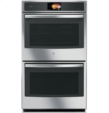 """GE Profile™ Series 30"""" Built-In Double Convection Wall Oven"""