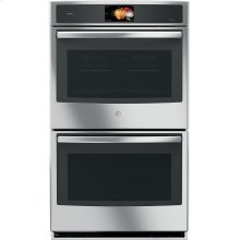 "FLOOR MODEL CLOSEOUT GE Profile™ Series 30"" Built-In Double Convection Wall Oven"
