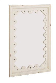 Antique White Tracery Wall Mirror
