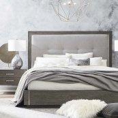 Queen/Lyon Brown B MODERN Astor Bed