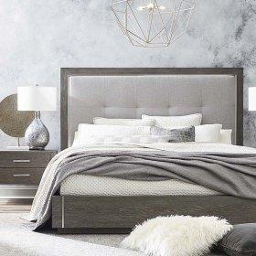 King/Lyon Brown B MODERN Astor Bed