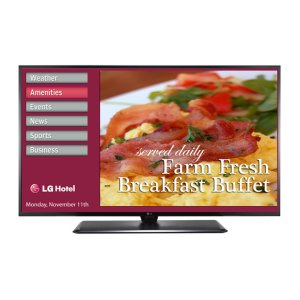 "LG Appliances55"" Class (54.64"" diagonal) Pro:Idiom® and Embedded b-LAN"