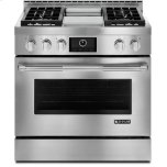 "JENN-AIR36"" Pro-Style(R) LP Range with Griddle and MultiMode(R) Convection System"