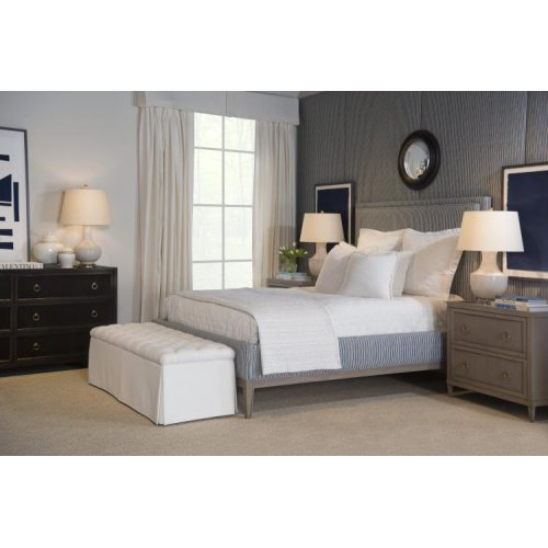 Mia Queen Upholstered Bed