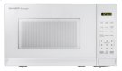0.7 cu. ft. 700W Sharp White Carousel Countertop Microwave Oven (SMC0710BW) Product Image
