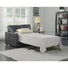 Emerald Home Slumber Twin Sleeper W/gel Foam Mattress Charcoal U3215-33-23