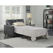 Emerald Home Slumber Twin Sleeper W/gel Foam Mattress Charcoal U3215-33-13