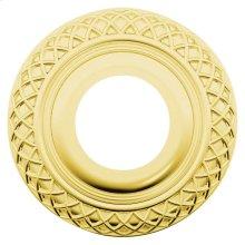 Lifetime Polished Brass R003 Estate Rose