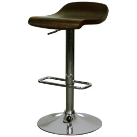 Byrd Gaslift Bar Stool, Dark Brown