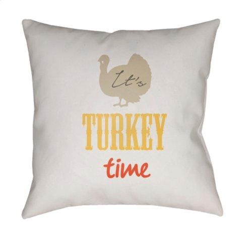 "It's Turkey Time TME-001 18"" x 18"""