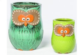 Hoot Planter - Set of 2