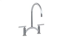 Sospiro Contemporary Bridge Kitchen Faucet