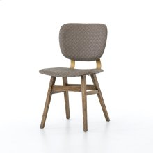 Embossed Grey Cover Sloan Dining Chair