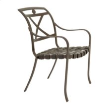 Palladian Strap Stacking Dining Chair - X-Back