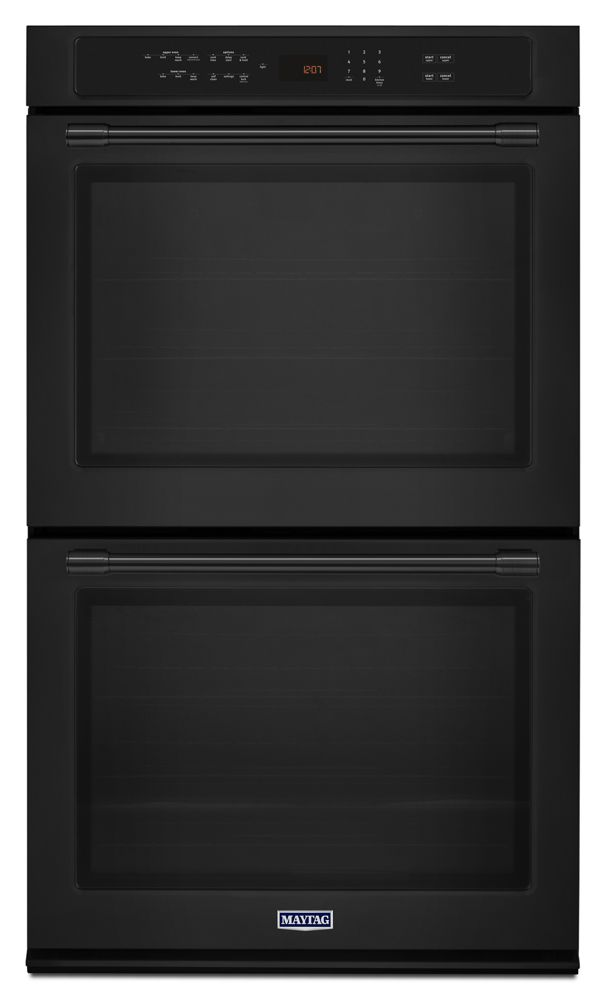 Mew9630fb Maytag 30 Inch Wide Double Wall Oven With True Convection