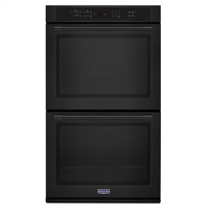 30-Inch Wide Double Wall Oven With True Convection - 10.0 Cu. Ft. - BLACK