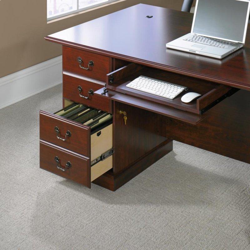 Hays Furniture Hopkinsville Ky 109843 in by Sauder in Hopkinsville, KY - Executive Desk