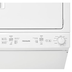 Frigidaire Gas Washer/Dryer Laundry Center - 3.9 Cu. Ft Washer and 5.5 Cu. Ft. Dryer