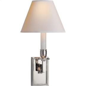 Visual Comfort AH2001PN-NP Alexa Hampton Dean 1 Light 7 inch Polished Nickel Decorative Wall Light