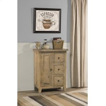 Tuscan Retreat® Coffee Cabinet With 3 Drawers and 1 Door - Fruitwood
