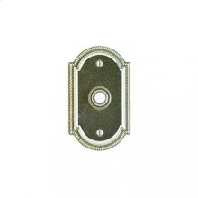 Ellis Doorbell Button Silicon Bronze Brushed