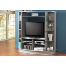 TV STAND - SILVER
