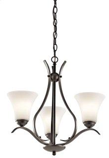 Keiran 3 Light Chandelier Olde Bronze®