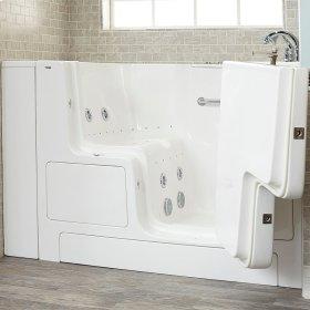 Value Series 32x52-inch Combo Massage Walk-in Tub  American Standard - Linen