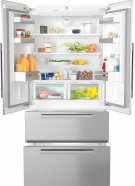 KFNF 9955 iDE maximum convenience thanks to generous large capacity and ice maker. Product Image
